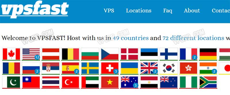 VPSFast 年终回馈:香港/东京/首尔/洛杉矶等机房 KVM VPS 全场八折