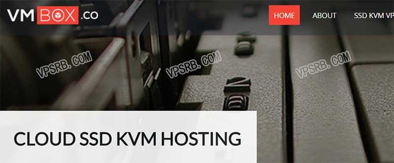 Vmbox 便宜大内存 VPS,OVZ/2G 内存/50G SSD/2T 流量/年付 20 刀