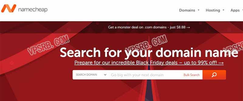 Namecheap 域名转入优惠,com/net/org/co 等域名转入只需 3.98 美元
