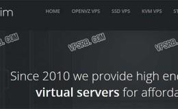 VPSslim 新年优惠 大内存VPS 2G内存/25G SSD/2T流量/1Gbps 月付4.99欧元